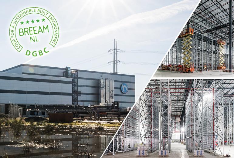 Opening distributiecentrum Hoogvliet in Bleiswijk (NL)
