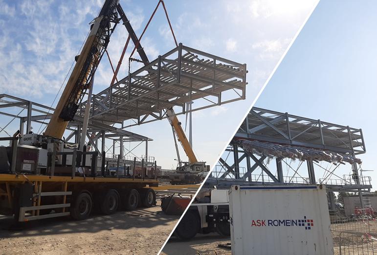 Heavy lifting bij project Standic Antwerpen!